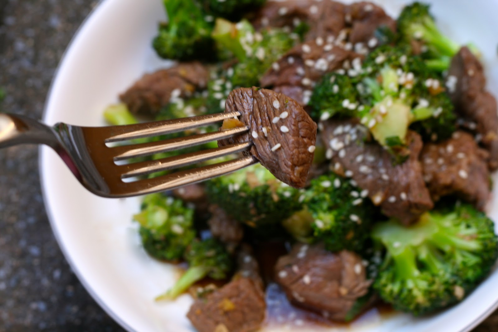 CupcakesOMG!: Asian Beef with Broccoli