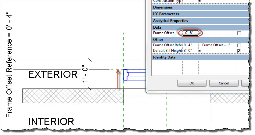 Revit OpEd: Window or Door Frame Positioning