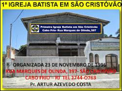 PIB EM SÂO CRISTÒVÂO