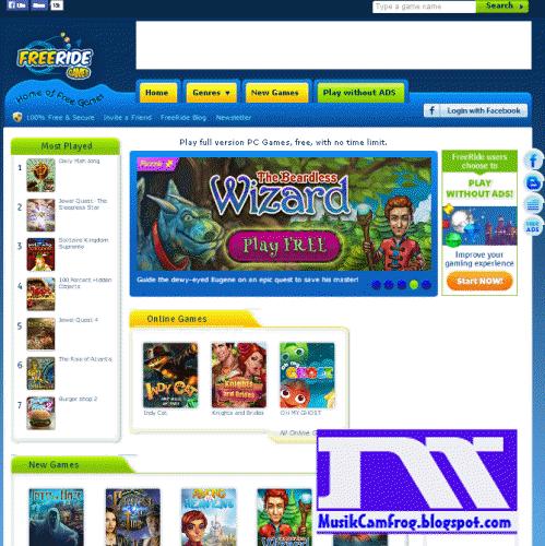 Game online gratis anak dan dewasa freeridegames