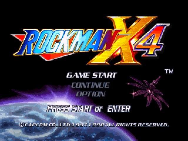Rockman X4 Game