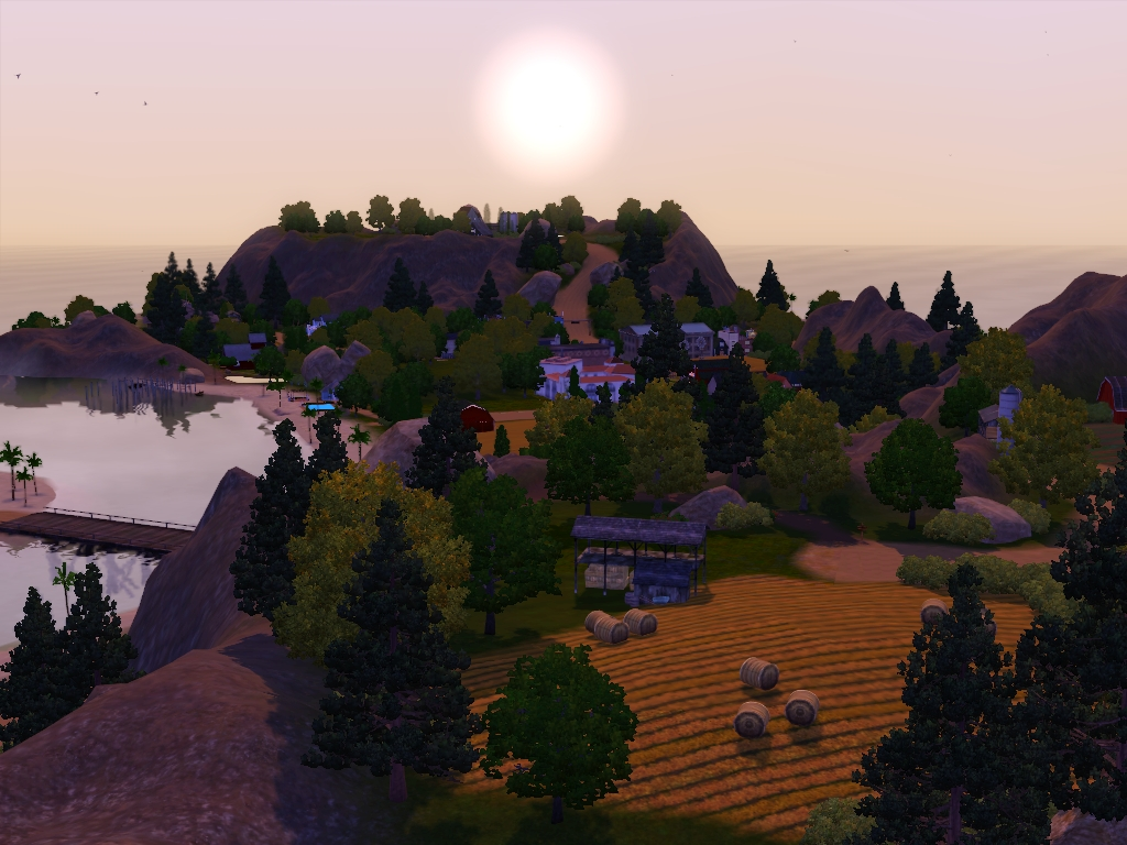 my sims 3 blog updated winchester farming community by