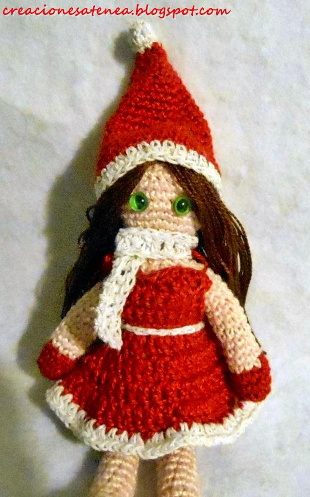 Creaciones Atenea: Muñeca navideña