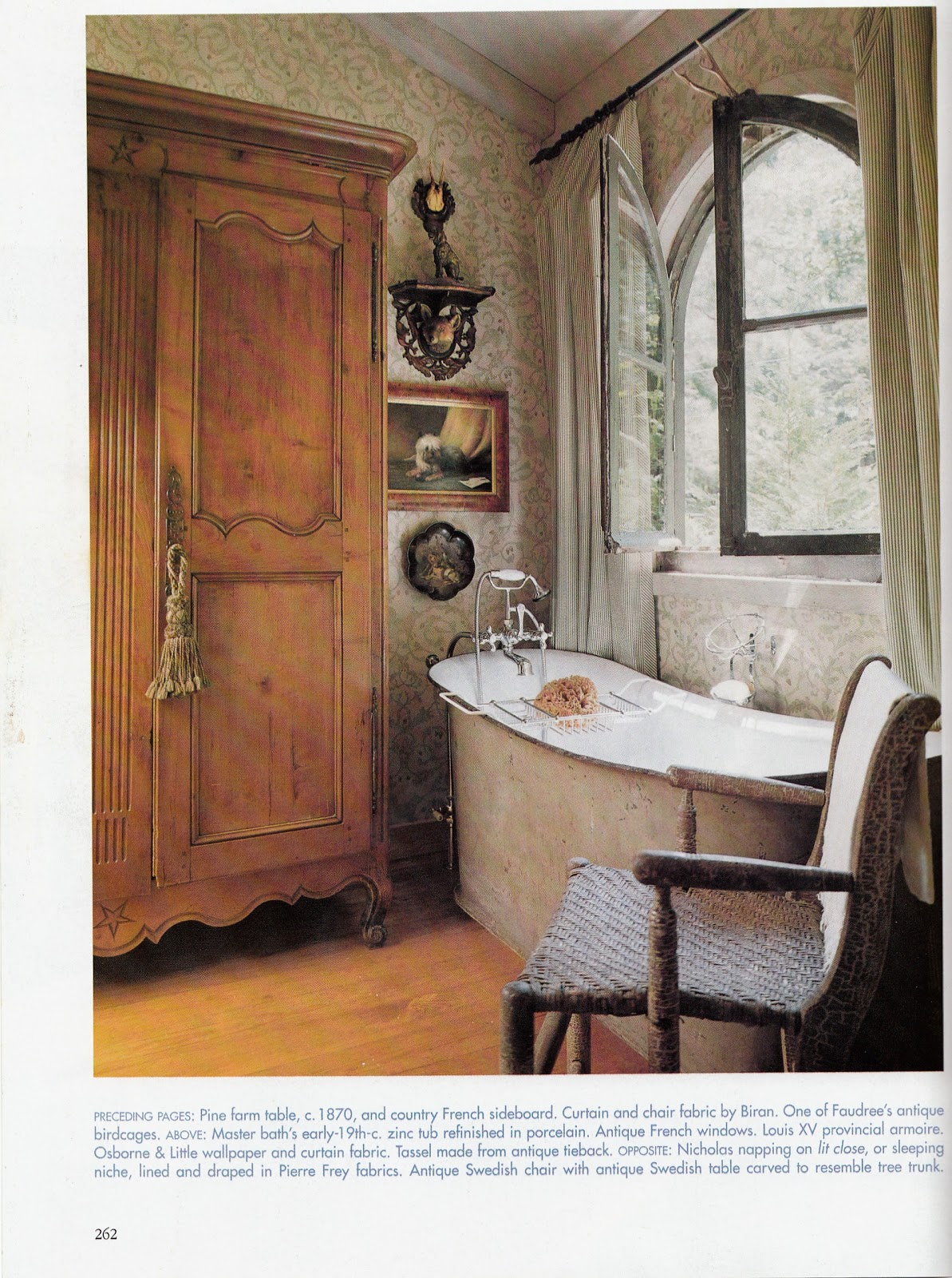 French country bathrooms - French Country Style Bathrooms
