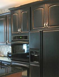 South Shore Decorating Blog Should I Paint My Kitchen Cabinets Black