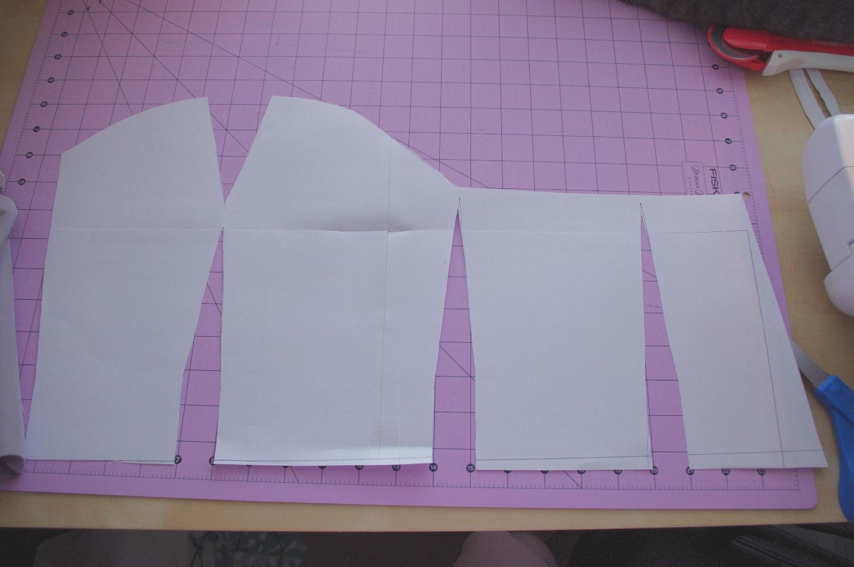 Silver rose sewing tutorial my satinnlace corset dress part 1 sunday august 21 2011 jeuxipadfo Gallery