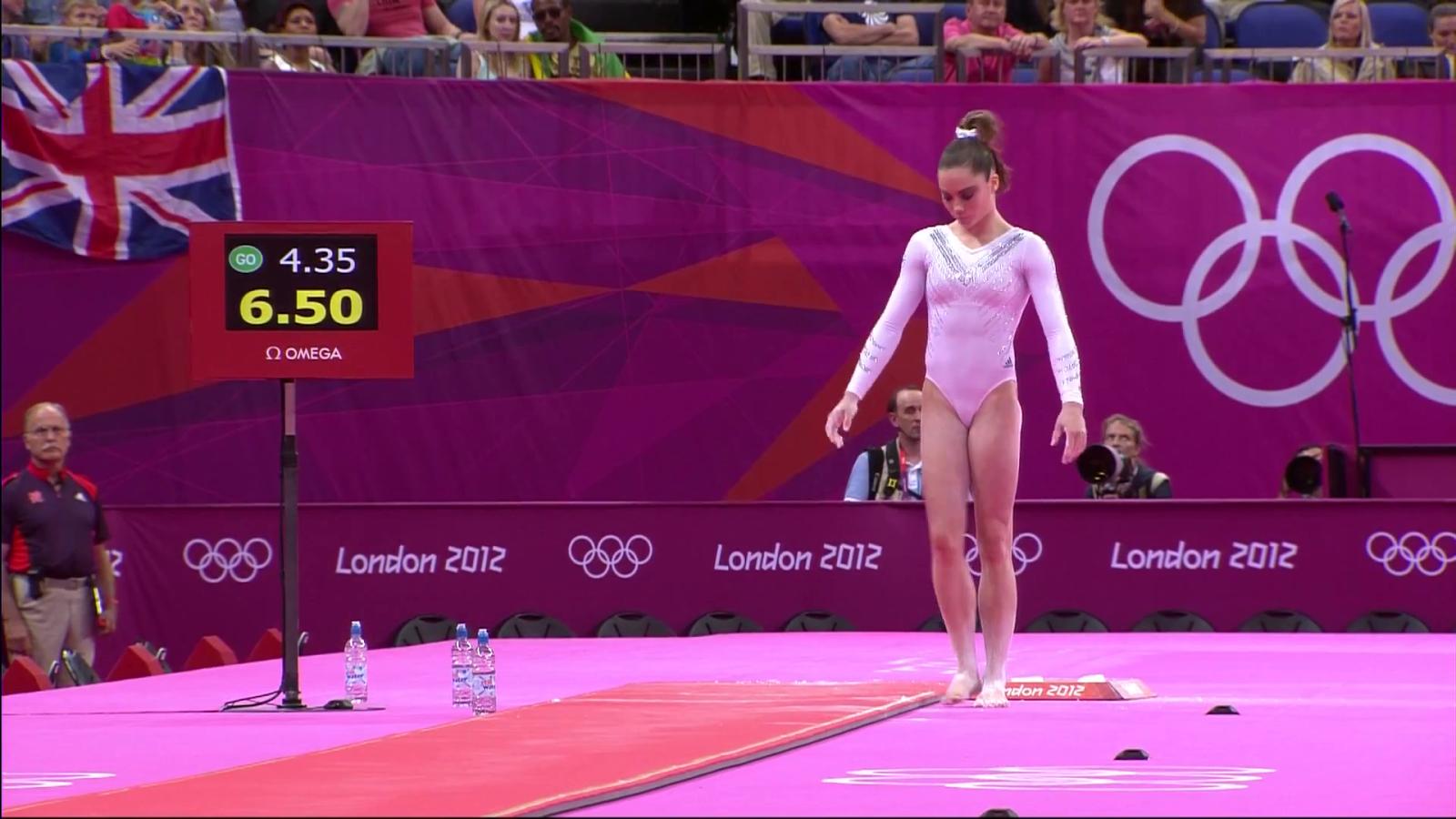vault gymnastics gif. McKayla Maroney - Gymnastics Artistic Womens Vault Final London 2012 Olympic Games Gif And Pics