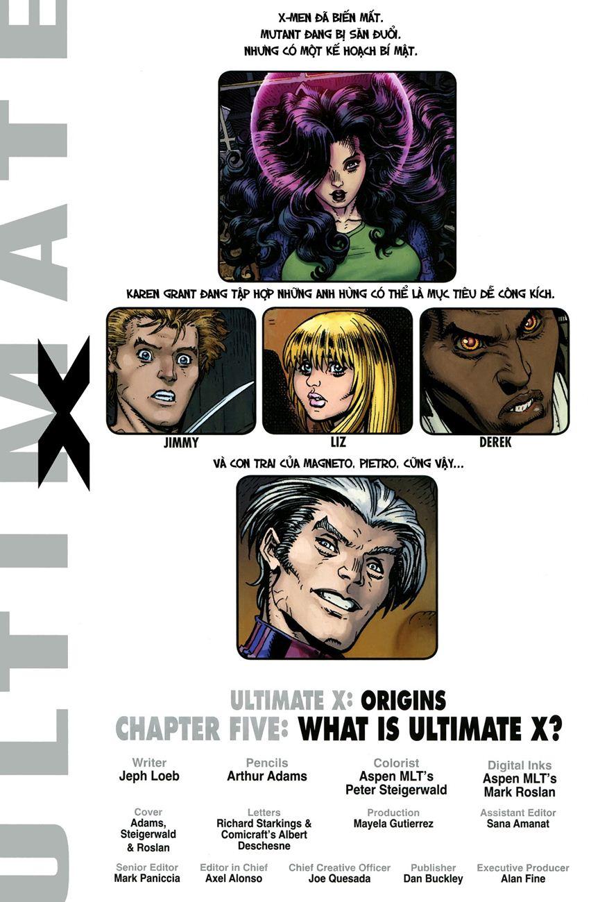 TruyenHay.Com - Ảnh 2 - Ultimate Comics X Chap 5