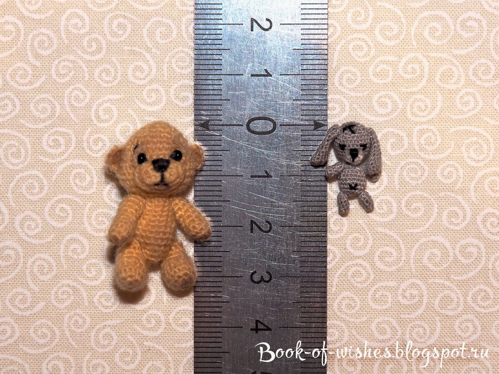 micro crochet toys