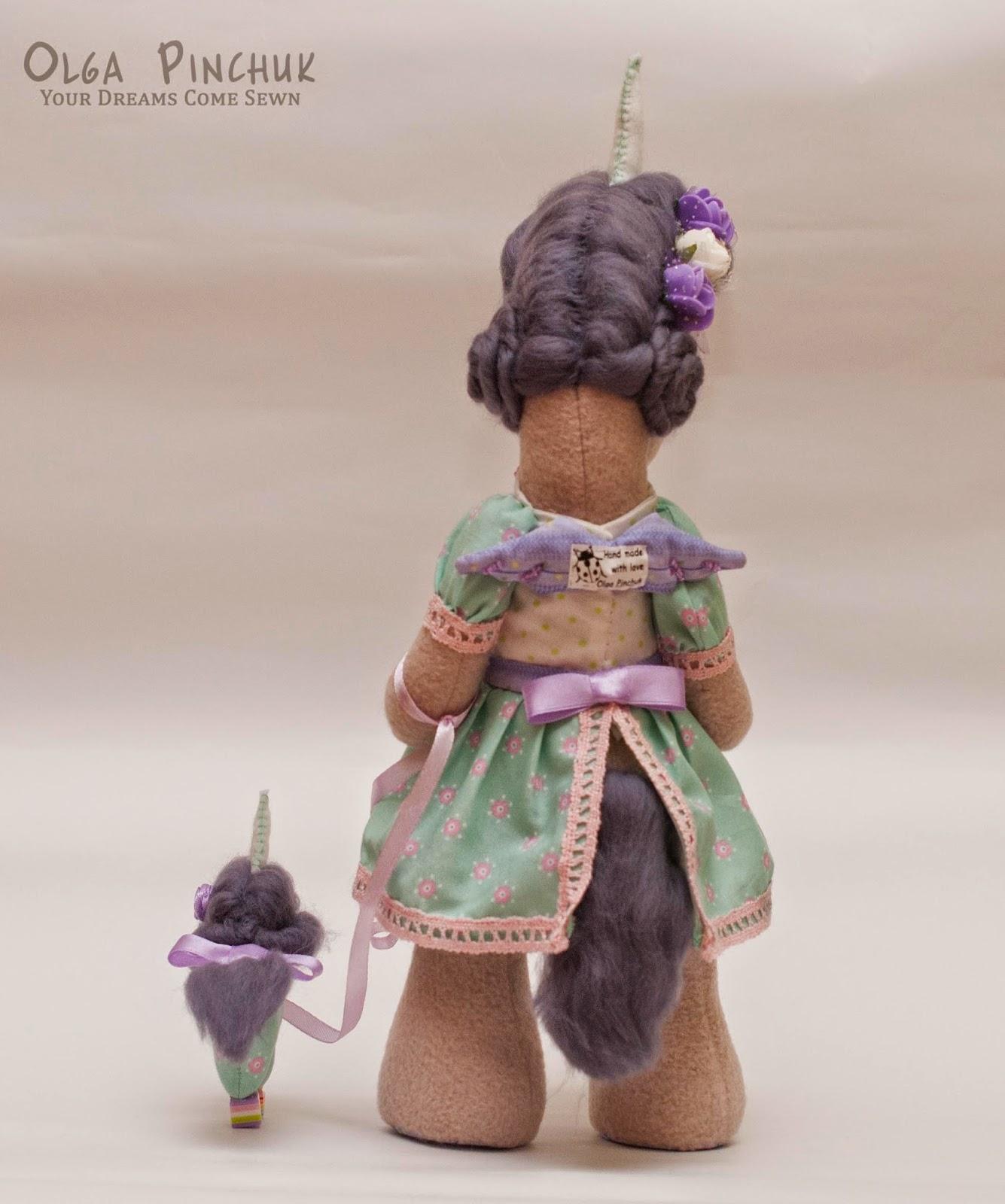 игрушка из флиса, символ года
