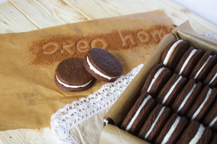 Печенье орео рецепт с фото в домашних