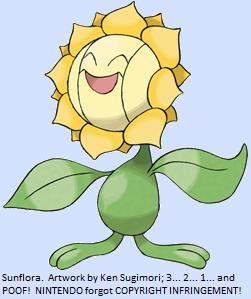 Pokemaniacal The Top Ten Worst Pokemon Ever 8 Sunflora,Living Room Wallpaper Design Images