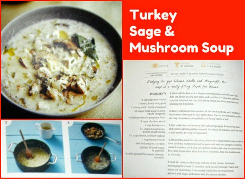 turkey sage and mushroom soup