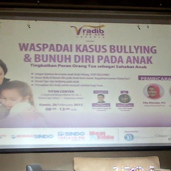 [Reportase] Seminar Parenting: Waspadai Kasus Bullying & Bunuh Diri pada Anak, Tingkatkan Peran Orang Tua sebagai Sahabat Anak