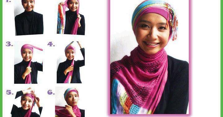 CARA PAKAI HIJAB JILBAB: Cara Memakai Turban Style