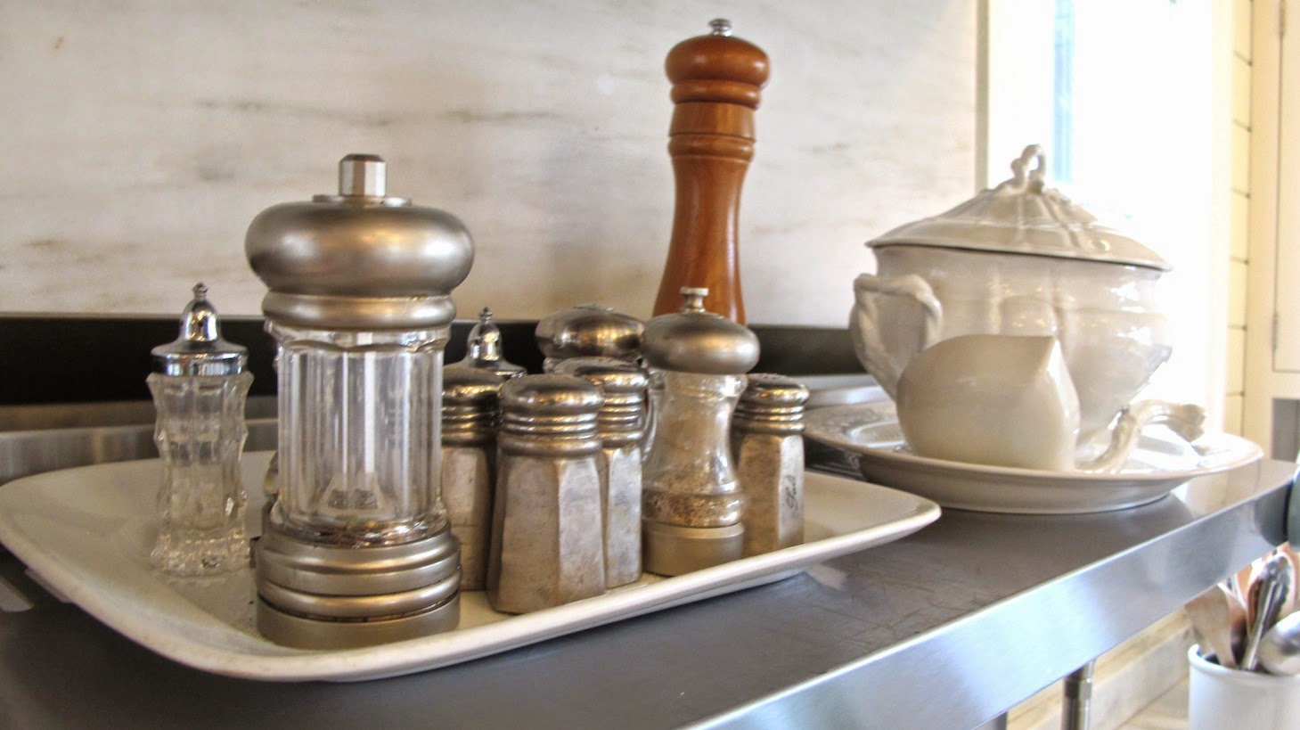 P Allen Smith Moss Mountain Garden Home kitchen shot salt and pepper (c)nwafoodie
