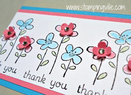 Thank You image from Easy Events Stamp Set
