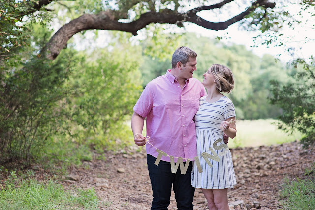 twins announcement, maternity photography, austin photography, pregnancy