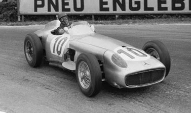 Formula 1 1955 Juan Manuel Fangio/  Mercedes