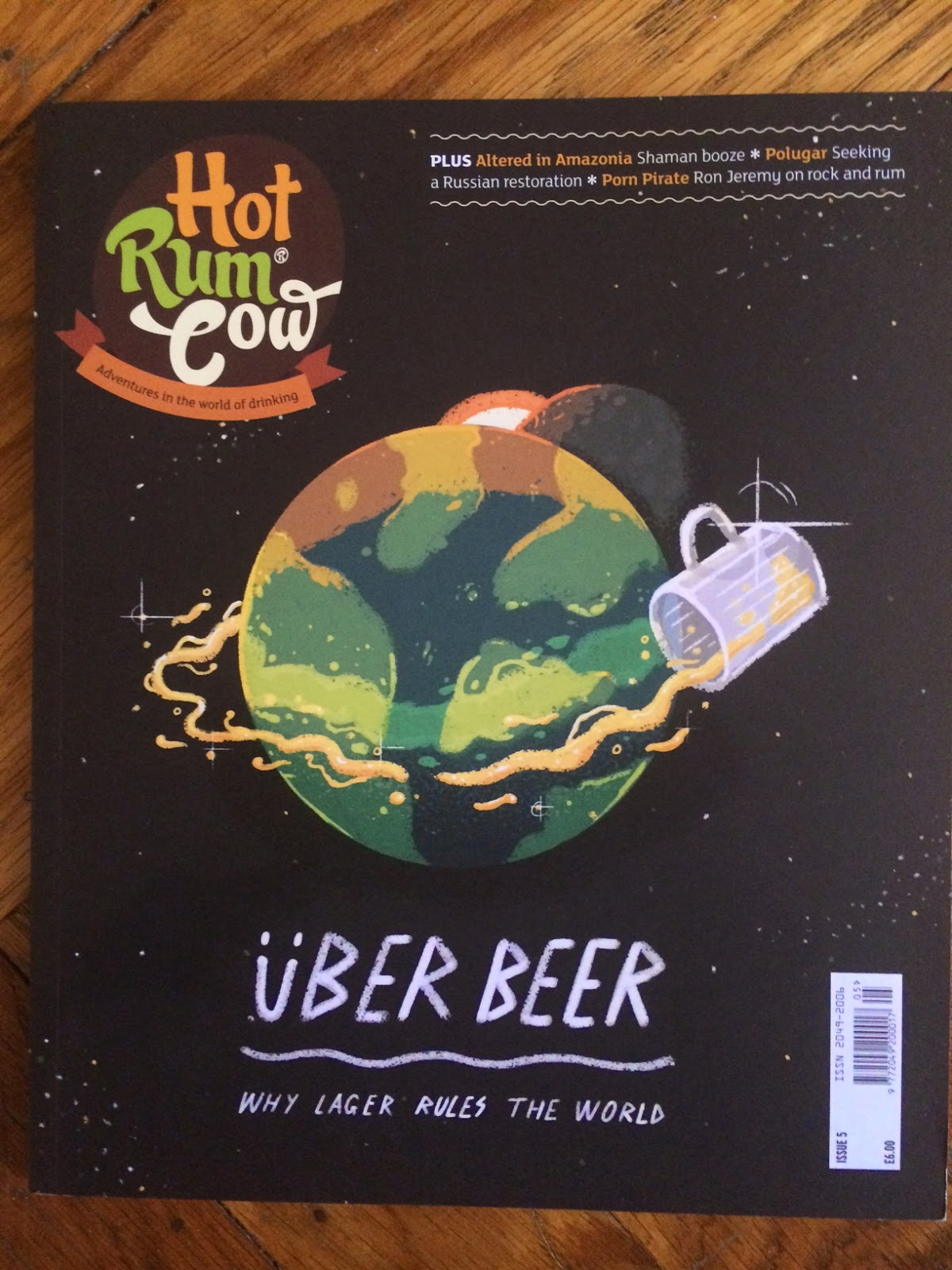 athenaeum nieuwscentrum: HOT RUM COW #5: the beer issue