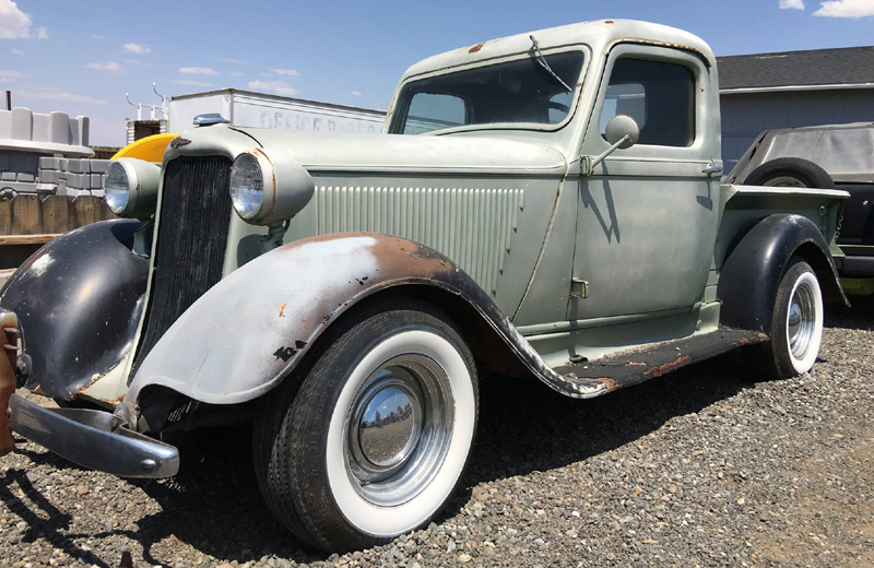 Rodcitygarage 1935 dodge pick up truck