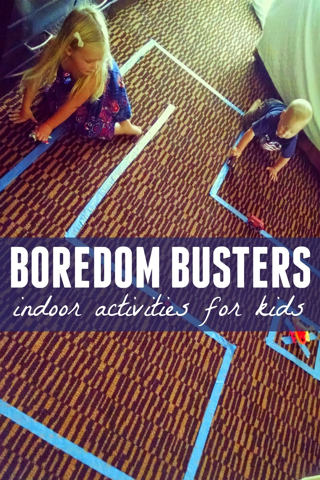 Toddler approved boredom buster indoor activities for kids for Indoor crafts for kids