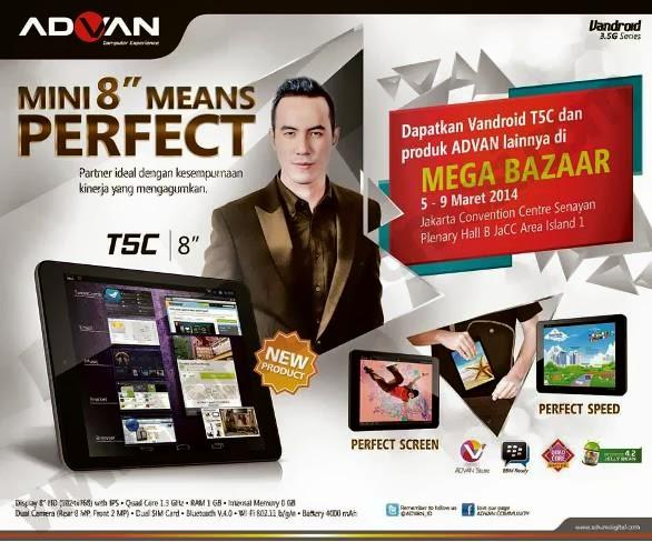 Promo Advan di Mega Bazaar Consumer Show 2014