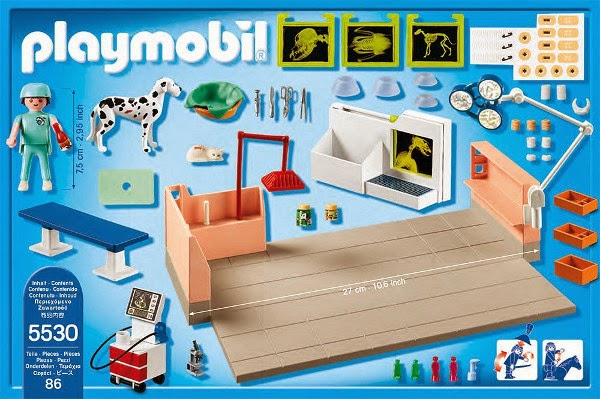 Libros y juguetes 1demagiaxfa juguetes playmobil city life 5530 quir fano de animales - Playmobil piscina ballena ...