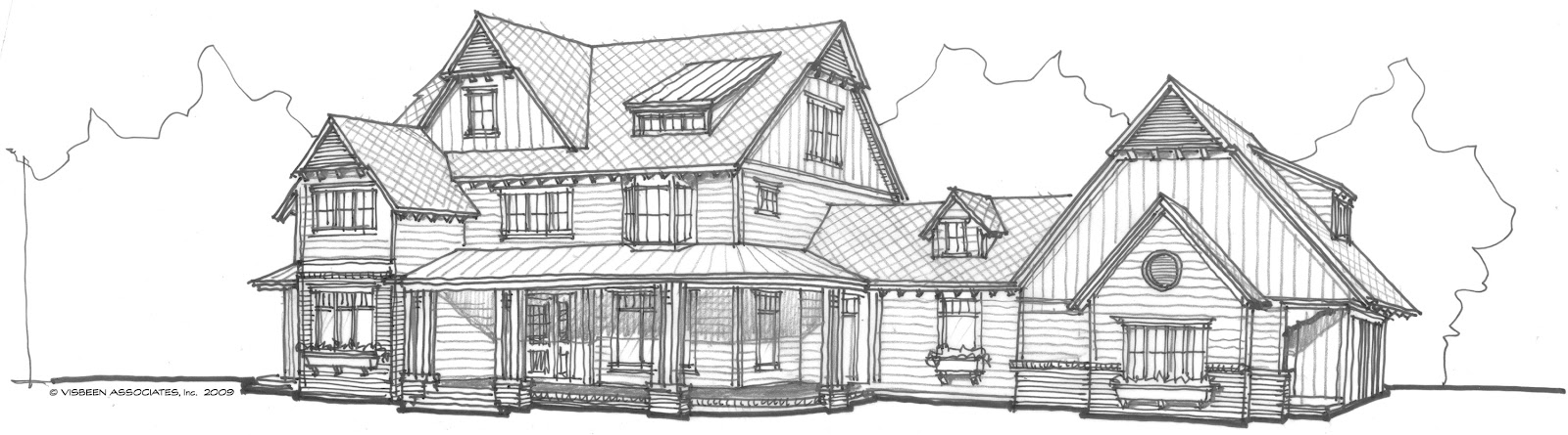 Architectural tutorial the american farmhouse visbeen for Visbeen architects floor plans