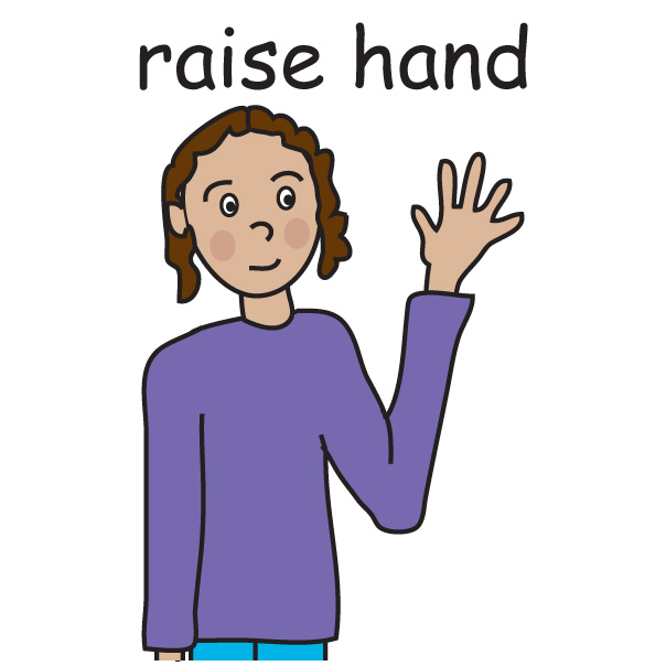 Student Raising Hand Clip Art I would be happy to provide a