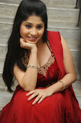 Ziya Khan Glamorous Photos in Red-thumbnail-5