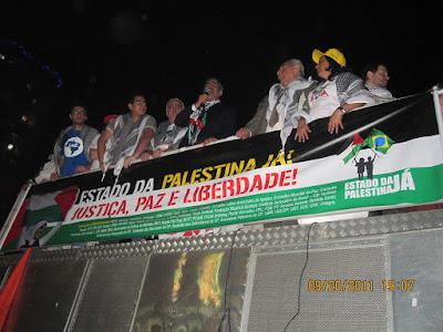 Ato histórico em São Paulo pelo Estado da Palestina Já - foto 38