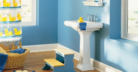 Deco chambre interieur 10 meilleurs sch mas de couleur - Salle de bain bleu et jaune ...