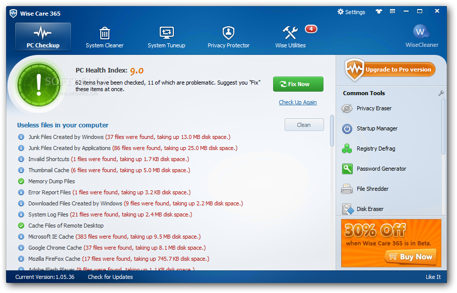 Wise Care 365 Pro Full İndir