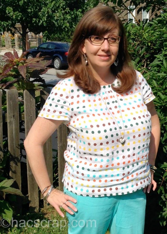 Boden Polka Dot Shirt