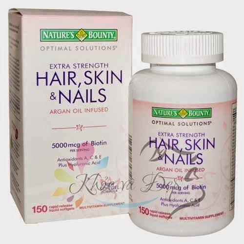 Hair, Skin và Nails 250 viên