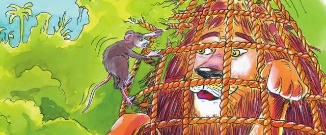 6 contoh narrative text Tentang Fabel ( dunia binatang ) Terbaik