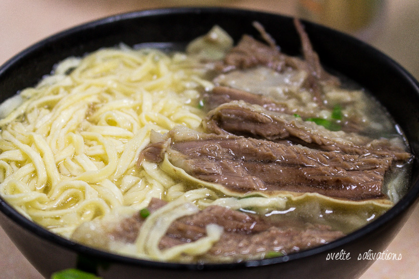 E-fu Beef Brisket Noodles at Kau Kee Restaurant | Svelte Salivations