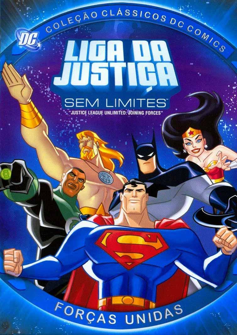 Liga da Justiça Sem Limites 2ª Temporada Torrent - WEB-DL 720p Dublado (2005)