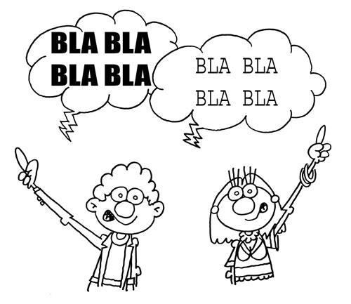 el lenguaje de las personas: