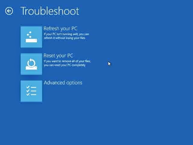 Cara Memasuki Advanced Startup Option Windows 8 dengan DVD Installasi