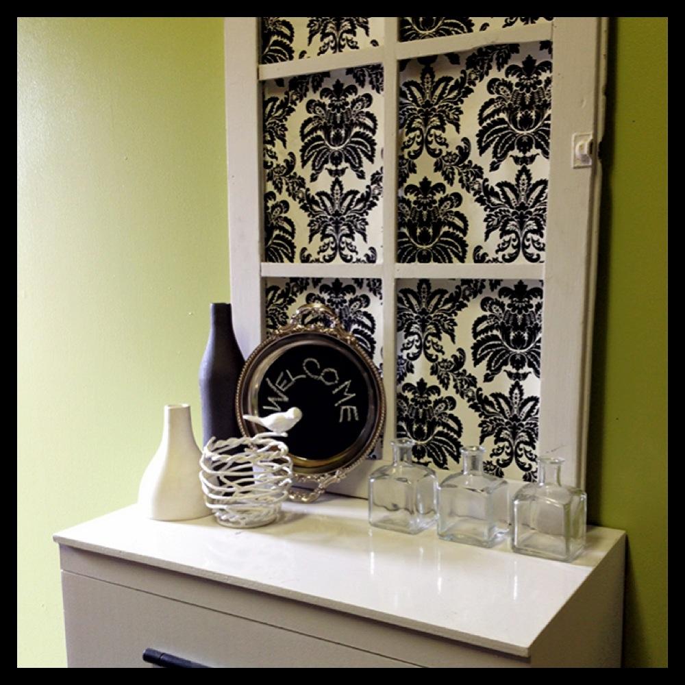 from the window to the wall diy window frame art - Window Frame Art
