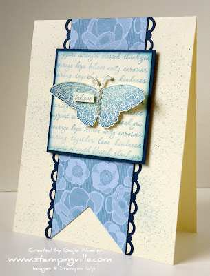 Stampin' Up! Strength & Hope Stamp Set Sample Card
