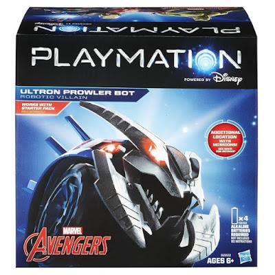 TOYS : JUGUETES - PLAYMATION  Marvel Avengers - Ultron Prowler Bot : Robotic Villain Producto Oficial Disney 2015 | Hasbro B2822 | A partir de 6 años Comprar en Amazon