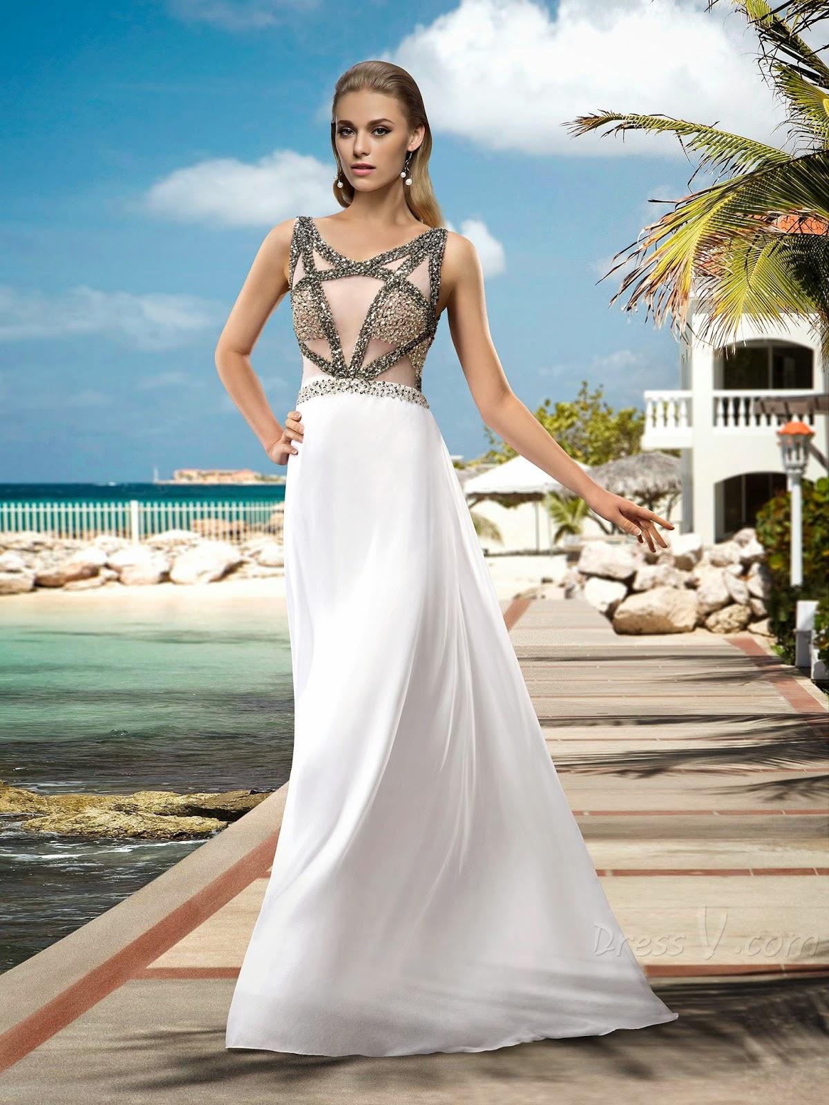 Simple Beach Wedding Dresses By Sana 39 S Ramblings On SheSaidBeauty