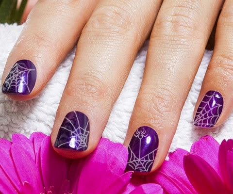 19 creative purple nail art designs makeup beauty tips most of the ideas given above can be done at home all you require are a few essential tools such as the nail polish colors make sure they are from the prinsesfo Choice Image