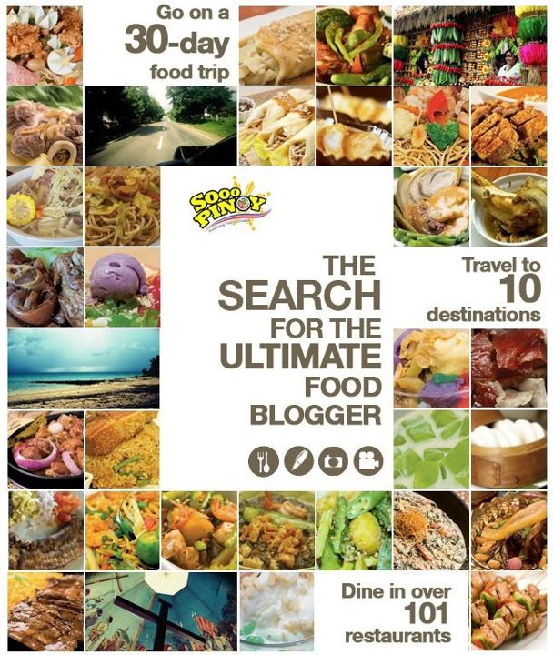 Ultimate food blogger philippines 2011 whats new philippines the winner will dine in over 101 restaurants and all expense paid travel to 10 philippine destination explore the diversity of filipino cuisine in forumfinder Gallery