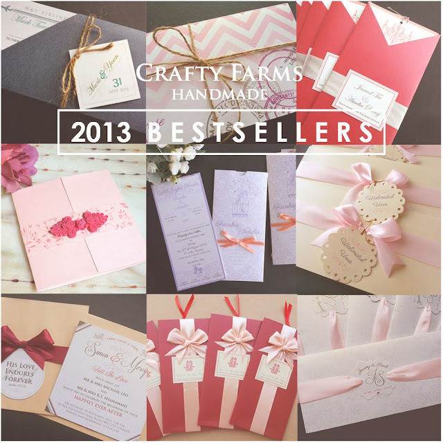 Kuala lumpur wedding cards, bestseller 2013