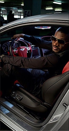 Peter Okoye Shows Off His #BentleyGT2014