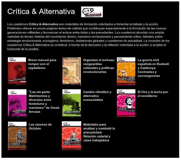 """""""Crítica & Alternativa"""""""